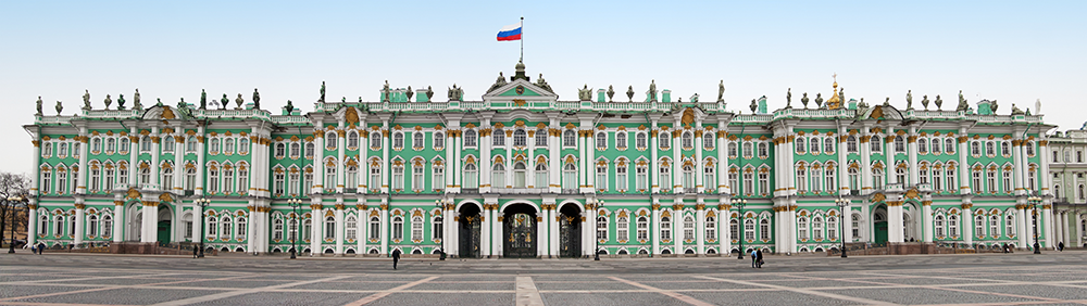 Das Eremitage - der Winterpalast